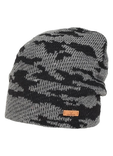 Nordbron Camo Beanie Şapka Gri